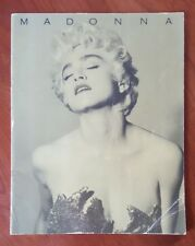 Madonna who's that girl tour program