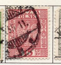 Poland 1929-38 Early Issue Fine Used 15g. 190907