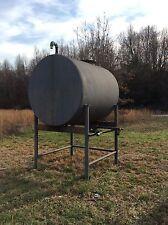 1,000 Gallon Carbon Steel Horizontal Tank