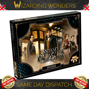 Fantastic Beasts Jigsaw Puzzle Game 1000/500 Piece Harry Potter Official Gift UK