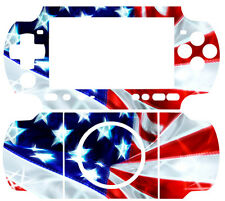 USA Flag Arts SKIN DECAL STICKER COVER 4 PSP 3000 SLIM