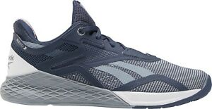 Reebok Nano X Womens Training Shoes Grey Gym Workout Exercise Fitness Trainers
