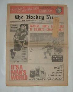 THE HOCKEY NEWS December 14 1968 Vol.22 # 10 Gordie Howe Scores 700th NHL Goal
