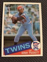 1985 Topps Kirby Puckett Minnesota Twins #536 Baseball Card