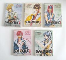 Saiyuki Anime Lot of 5 DVD Vol 1, 2, 3, 5, & 6 ADV Films R1 4:3 22 Episodes