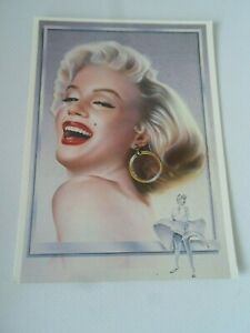 Nostalgic Picture Postcard - Marilyn Monroe, By Martin Alton [Athena] §ZA1081