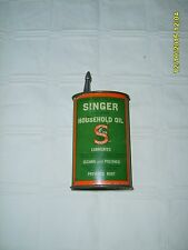 VTG USA SINGER OILER HANDY OIL TIN CAN SEWING MACHINE COLLECTIBLE