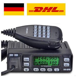 Leixen VV-898 Mobil Fahrzeug Funkgerät VHF/UHF 4W/10W 199CH Car Mini Transceiver
