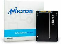 "Micron 5210 ION SSD 7.68TB (8TB) QLC SATA 6Gb/s 2.5"" Enterprise MTFDDAK7T6QDE"