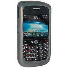 AMZER Grey Silicone Skin Case For BlackBerry Bold 9650