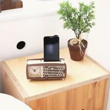 Woodsum Wood Maple Walnut Retro Clock Kit  Buildable Gift NIB Do It Yourself