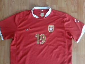 Serbia Nike Jersey Nikola Zigic Shirt 2008 Srbija Camiseta Vintage Maglia Trikot