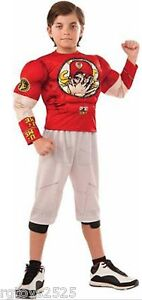 WWE John Cena Muscle Costume Size 4 6 Small New Wrestling Halloween