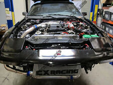 CXRacing Intercooler Kit + BOV For 86-92 TOYOTA SUPRA MK III MK3 7MGTE 7M-GTE