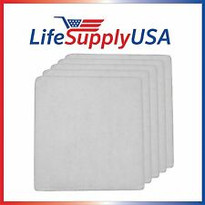 5 Pack LifeSupplyUSA Pre-Filter Pads designed to fit IQ Air Iqair PF40 PF 40
