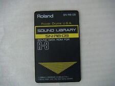 Roland R-8 & R-8M - Power Batería EE. UU. - Tarjeta de sonido del tambor-SN-R8-09