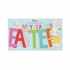 Hop To It Happy Easter Banner - Party Supplies - 1 Piece