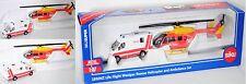 Siku Super 1850 80401 NZ-Life Flight Westpac Rescue & Ambulance-Set Werbemodell