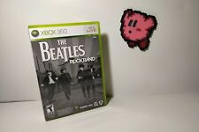 Beatles Rock Band CIB Complete Game With Manual Xbox 360