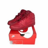 Nike Mens Big High Basketball Shoes Red Lace Up Sneakers 336608-660 9 New in Box