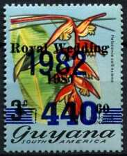 Guyana 1981/1982 SG#1004 Royal Wedding Surch MNH #D69789