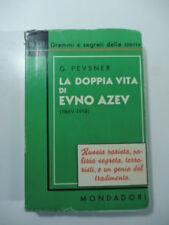 La doppia vita di Evno Azev, G. Pevsner, 1936