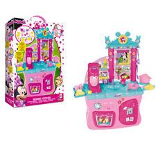 Cucina Giocattolo per bambine Minnie Disney bimba 40 accessori forno frigo 80cm