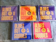 ART LABOE OLDIES BUT GOODIES 5 NEW, SEALED CD'S ORIGINAL SONGS ORIGINAL ARTISTS