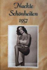 Männer Magazin foto NACKT 1957 busen WOMAN frau girl behaart akt DDr Sonnenbaden