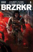 Brzrkr 1 (Berzerker)  Grampa Cover A  2/24/2021 Keanu Reeves Boom Studios