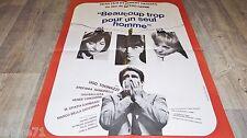 BEAUCOUP TROP POUR UN SEUL HOMME ! pietro germi  affiche cinema 1966