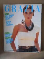 GRAZIA Rivista di moda n°2479 1988 [VL18] * con Monica Bellucci Rarissimo!!