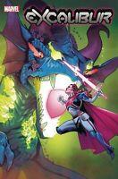 EXCALIBUR #4 MARVEL COMICS Cover A 1ST PRINT HOWARD