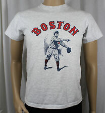 Boston Red Sox Medium Grey T-Shirt Player in Vintage Uniform