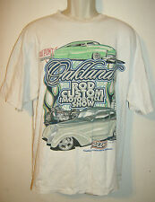 Hanes HOMBRE TALLA XL Camiseta Dupont Oakland Rod CUSTOM MOTORCYCLE Show 2003