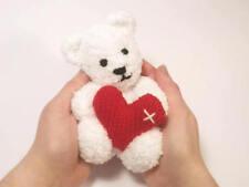 Little Valentine's Teddy Bear Knitting Pattern