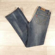 "Ladies LEVIS 572 Bootcut 26""W 31""L Vintage Stonewashed Blue Denim Jeans #F3520"
