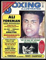 BOXING ILLUSTRATED MAGAZINE JULY 1974 MUHAMMAD ALI