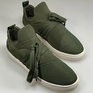 Steve Madden -Womens- Lancers Shoes Sneakers Green Size 7.5