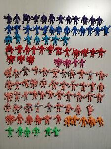 Vintage M.U.S.C.L.E. Muscle Men 109 Figures Lot Colors Kinnikuman 1980s Mattel