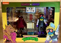SPLINTER and BAXTER TMNT 2 PACK NECA TARGET EXCLUSIVE ready to ship!