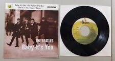 THE BEATLES BABY ITS YOU VINTAGE 45 RECORD RE13