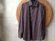 BEN SHERMAN ORIGINAL Size L BlACK MULTI  Cotton STRIPED Shirt 👔