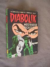 DIABOLIK ORIGINALE ANNO XIV n°  8 - 1975 - RARO - OTTIMO
