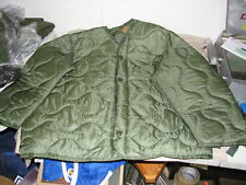 M65 coat liner jacket cold weather size XLarge military