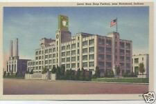 WHITING INDIANA LEVER BROTHERS SOAP FACTORY POSTCARD