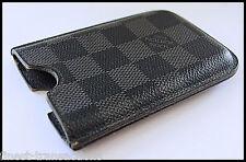 Authentic Louis Vuitton Damier Graphite 3G/3GS Mobile Cell Phone Case 4 iPhone