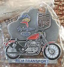 UPS United Parcel Service FILM TRANSPORT 2000 Australia Sydney Olympic Lapel Pin