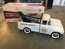 Rare Vintage Antique Toy Structo Wrecker Truck No. 301 With Original Box!
