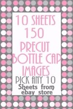 150 Bottle Cap Images 10 Sheets Of Your Choice Pick From 1000 Store Listings